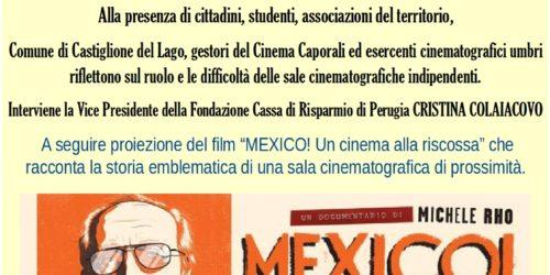 IL FUTURO DEI CINEMA DI PROSSIMITA': VERSO LA RISTRUTTURAZIONE DEL CAPORALI