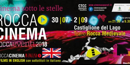 ROCCACINEMA 2018 I FILM DEL 2° GRUPPO – Dal 30 luglio al 2 settembre