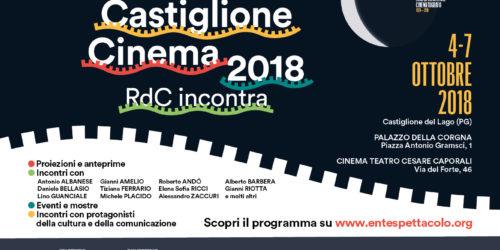 Castiglione Cinema 4/7 ottobre 2018 – Il programma.