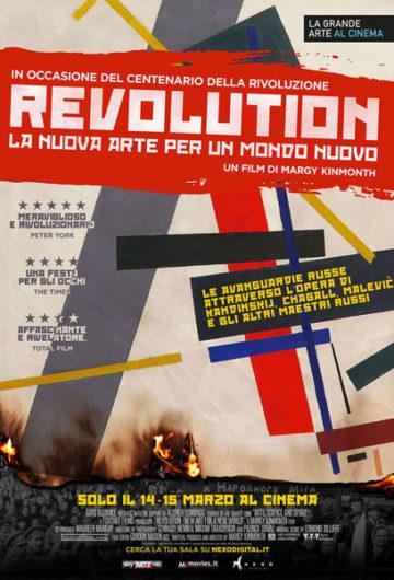 REVOLUTION – LA NUOVA ARTE PER UN NUOVO MONDO