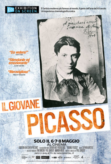 Il Giovane Picasso – La Grande Arte al Cinema