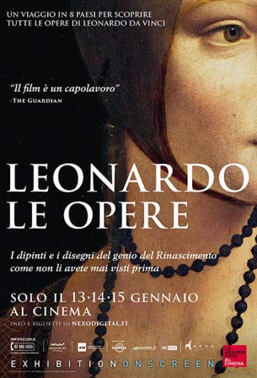 LEONARDO. LE OPERE – LA GRANDE ARTE AL CINEMA