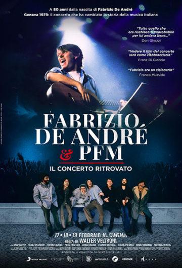FABRIZIO DE ANDRÈ E PFM – IL CONCERTO RITROVATO