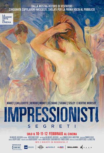 IMPRESSIONISTI SEGRETI – LA GRANDE ARTE AL CINEMA
